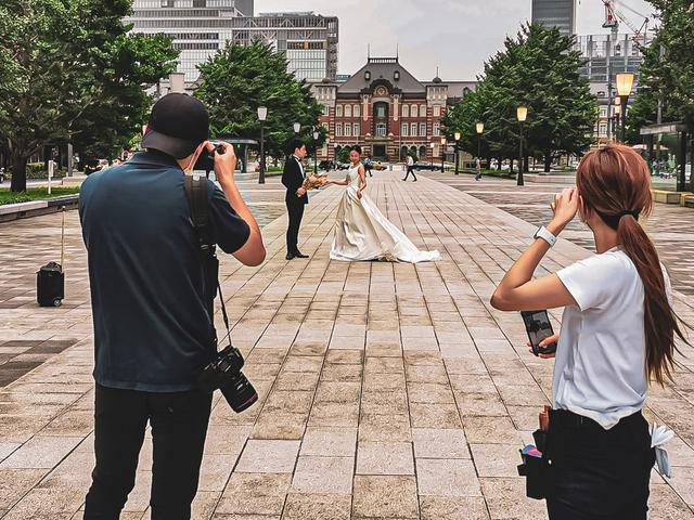 東京駅丸の内フォトツアー(前撮りプラン)のご案内