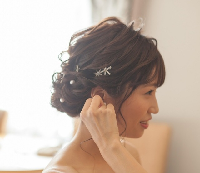 ヘアメイクのご案内|美しき花嫁プラン